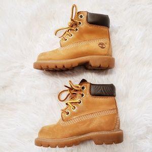 "Timberland Shoes - Timberland Toddler 6"" Wheat Waterproof Boots 5m"